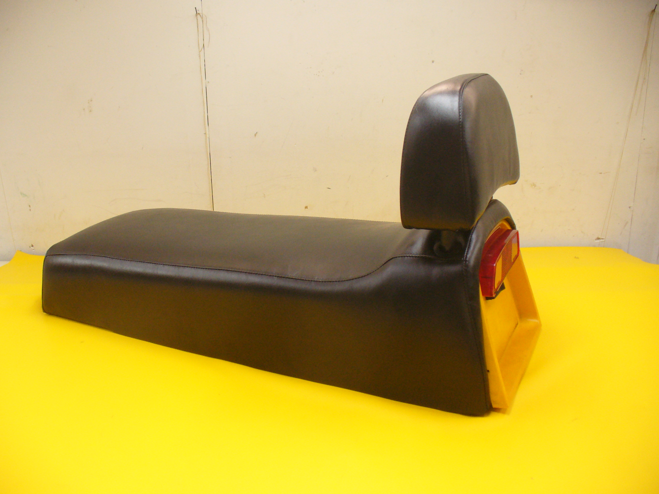1973 Skidoo Elan With Backrest Snowmobile Seat Cover Set